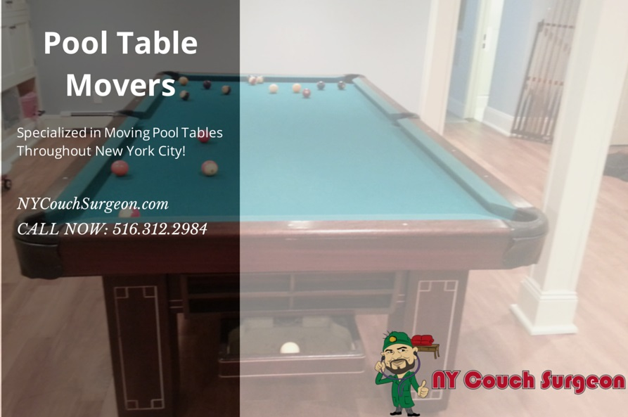 NYC Pool table moving